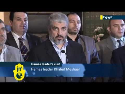 Cairo: Hamas asks Arab League help in Palestinian unity and safety from US (Khaled Mashal in Egypt)