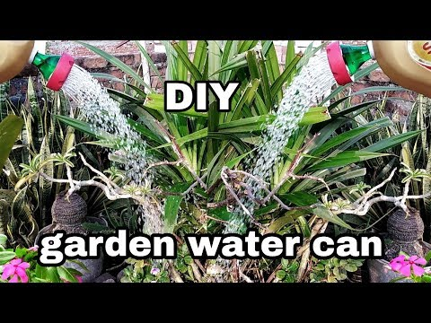 How to make garden water can very easy