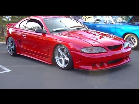 HotRod SN95 1996 Ford Mustang GT Widebody Full custom Vortech Supercha