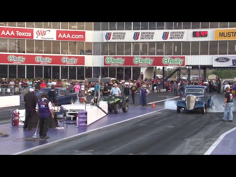 1936 Chevy Pickup running 8's!!! GIANT TURBO