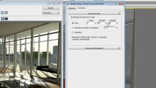 3ds Max Design 2012 - Iray Renderer