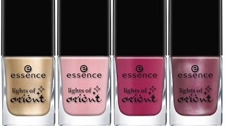 Лаковые покупки ESSENCE, PINK UP,  RIO, LAVELLE и SALLY HANSEN