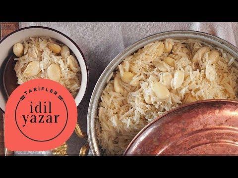 Bademli Pilav Tarifi - İdil Tatari - Yemek Tarifleri