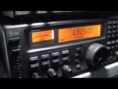 Captain Morgan Shortwave Pirate radio 6925 khz