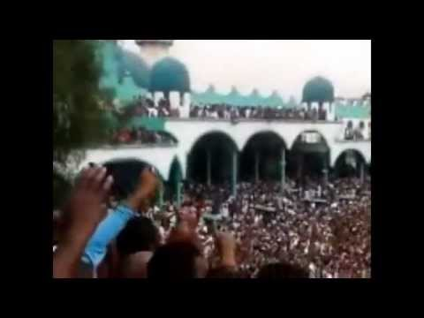ETHIOPIA - Ethiopian Muslims continue their strong Demonstration at Anwar Mosque on July 13/2012