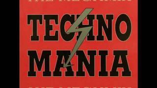 TECHNO MANIA Techno Megamix (industrial) 1990