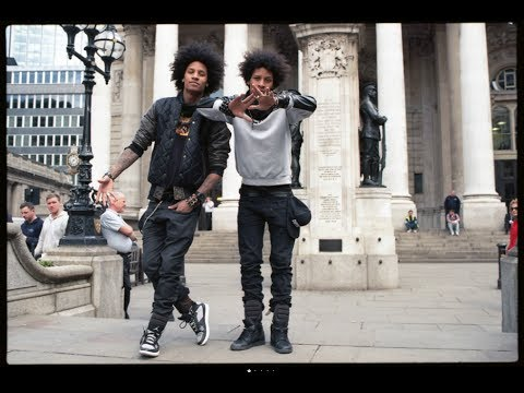 Les Twins On London Beyonce Tour | Yak Films video