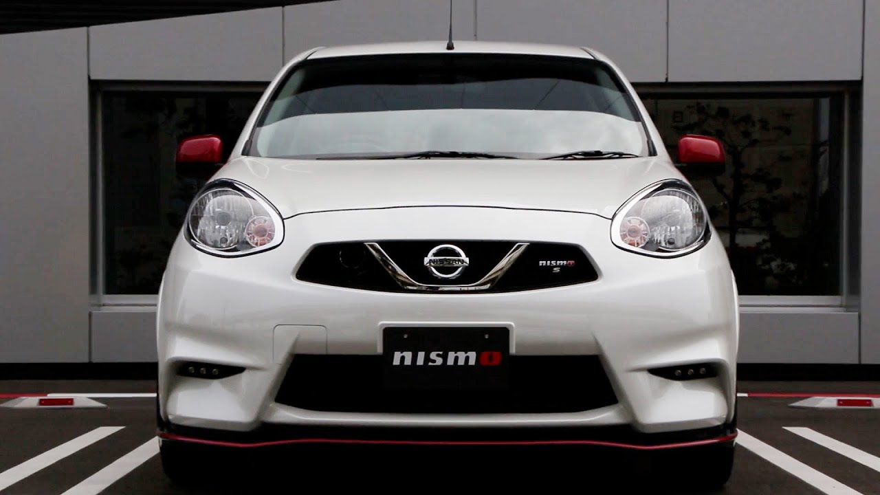 2014 Nissan March NISMO S special tuning (Micra NISMO) - YouTube