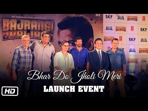 Bhar Do Jholi Meri Song Launch | Salman Khan, Adnan Sami, Kabir Khan | Bajrangi Bhaijaan