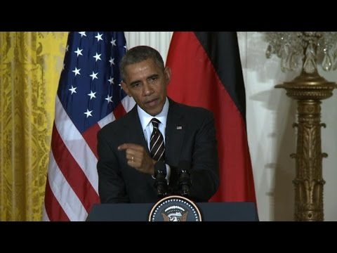 Obama delays Ukraine arms decision amid diplomatic whirlwind