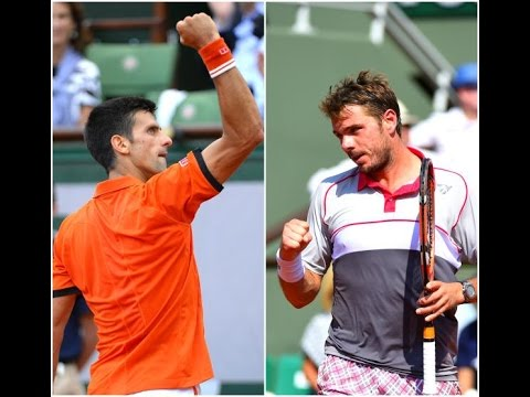 Novak Djokovic vs Stanislas Wawrinka Highlights HD Roland Garros 2015
