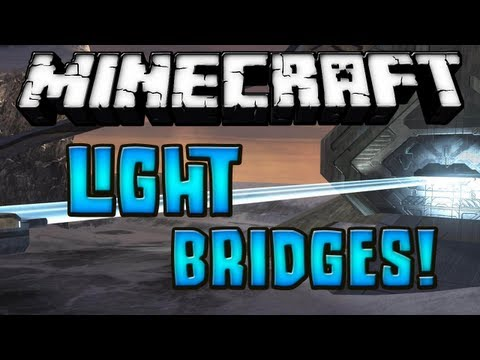 Minecraft 1.6.2 - Review de Light Bridges MOD - ESPAÑOL TUTORIAL