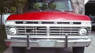 1978 Ford Truck Grill Swap with 73-77 Grill