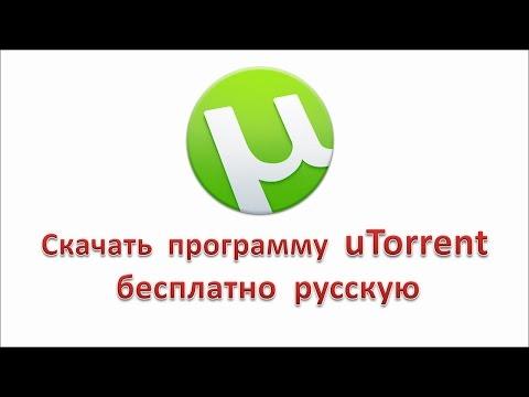 Скачать Торрент программу uTorrent русская версия.