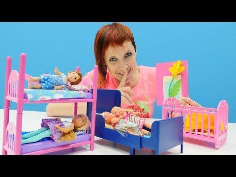 Барби в детском садике Капуки Кануки. Видео для девочек.