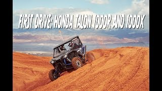 First Drive: Honda Talon 1000R and 1000X