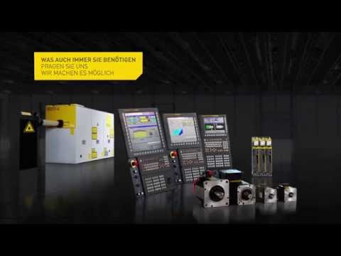 5-Achs Bearbeitung mit FANUC CNC Steuerung