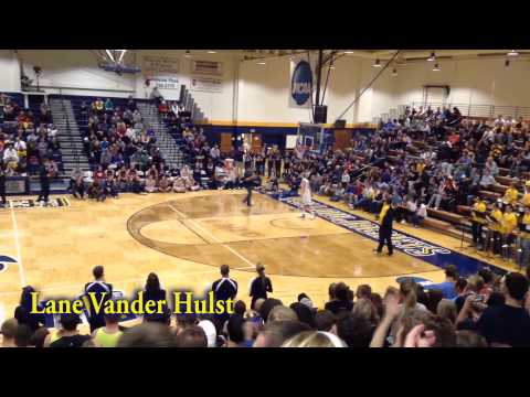 Cedarville University Moonlight Madness Dunk Contest 2013