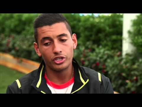 Wimbledon 2014 Tuesday Interview Kyrgios
