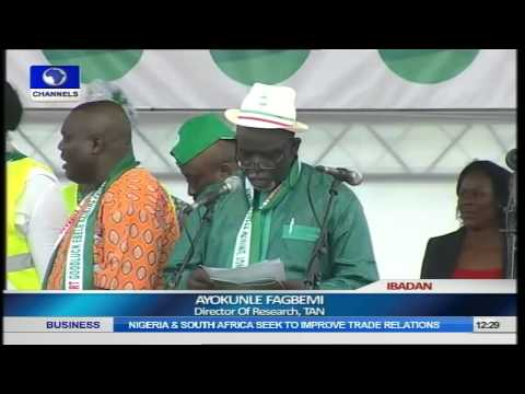 Transformation Ambassadors Of Nigeria (TAN) Brings Rally For Jonathan To Ibadan Pt.1