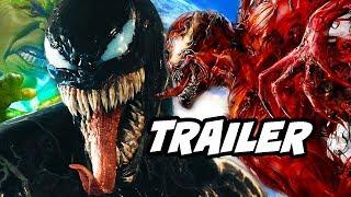 Venom Comic Con Trailer - Spider-Man Marvel Easter Eggs Breakdown