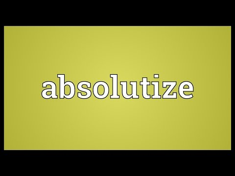 Header of Absolutize