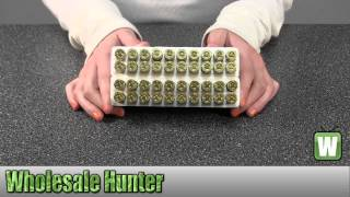 Winchester Ammo 22-250 Remington 45gr USA Jacketed Hollow Point Per 40 USA222502 Unboxing