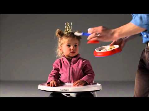 Fun, Creative Baby Bjorn High Chair Advert
