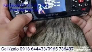 Game phone Kechaoda K110 vừa là điện thoại 2 sim vừa là máy chơi game huyền thoại