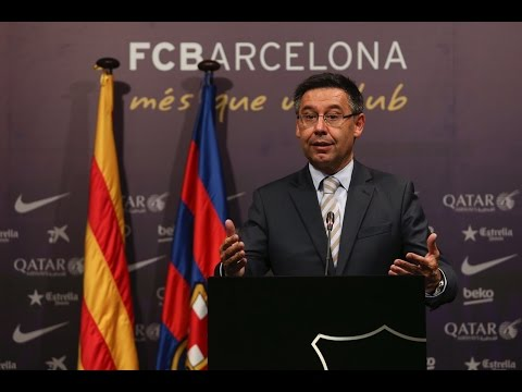 Rueda de prensa íntegra de Josep Maria Bartomeu (13/06/2016)