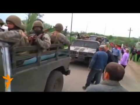 clashes erupt in Ukraine's south