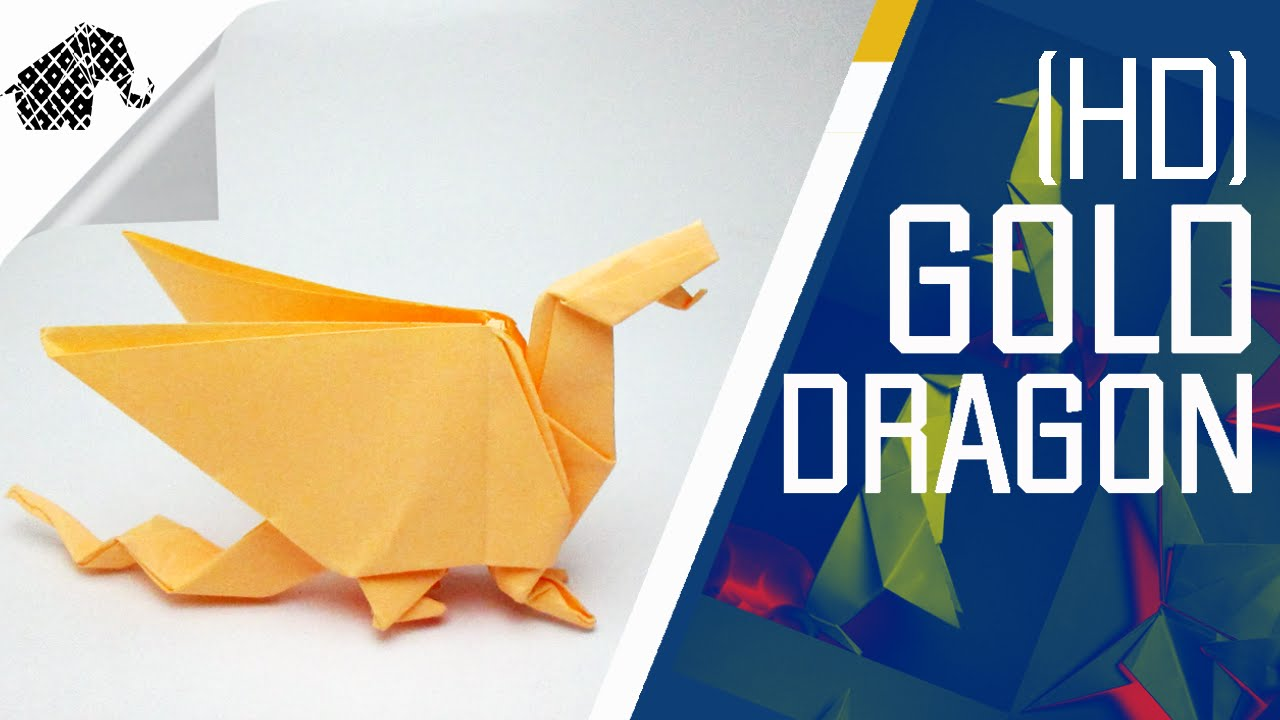 How to make a dragon in origami