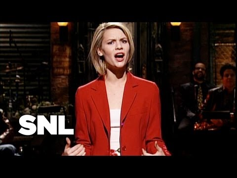Claire Danes Monologue - Saturday Night Live
