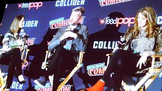 Black Mirror with Jodie Foster, Charlie Brooker, Annabel Jones @ NYCC 2017
