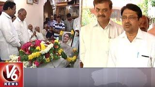BJP Ex MLC Dileep Kumar Pays Tribute To Irrigation Advisor Vidyasagar Rao