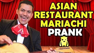 Asian Restaurant Mariachi Prank - Ownage Pranks