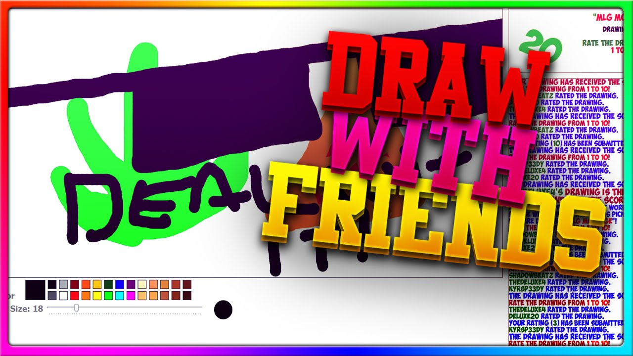 Youtube Crew Drawing Draw With Friends With The