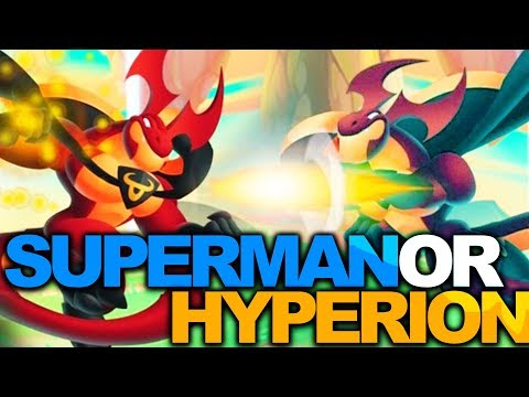 Dragon City - Superman or Hyperion?