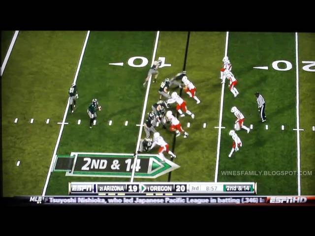 Arizona vs Oregon Highlights 2010
