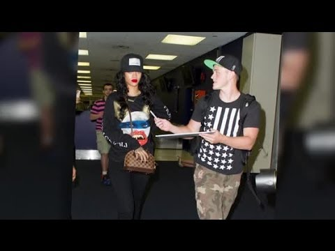 Rihanna Gets Angry At A Fan Wanting To Take A Picture video