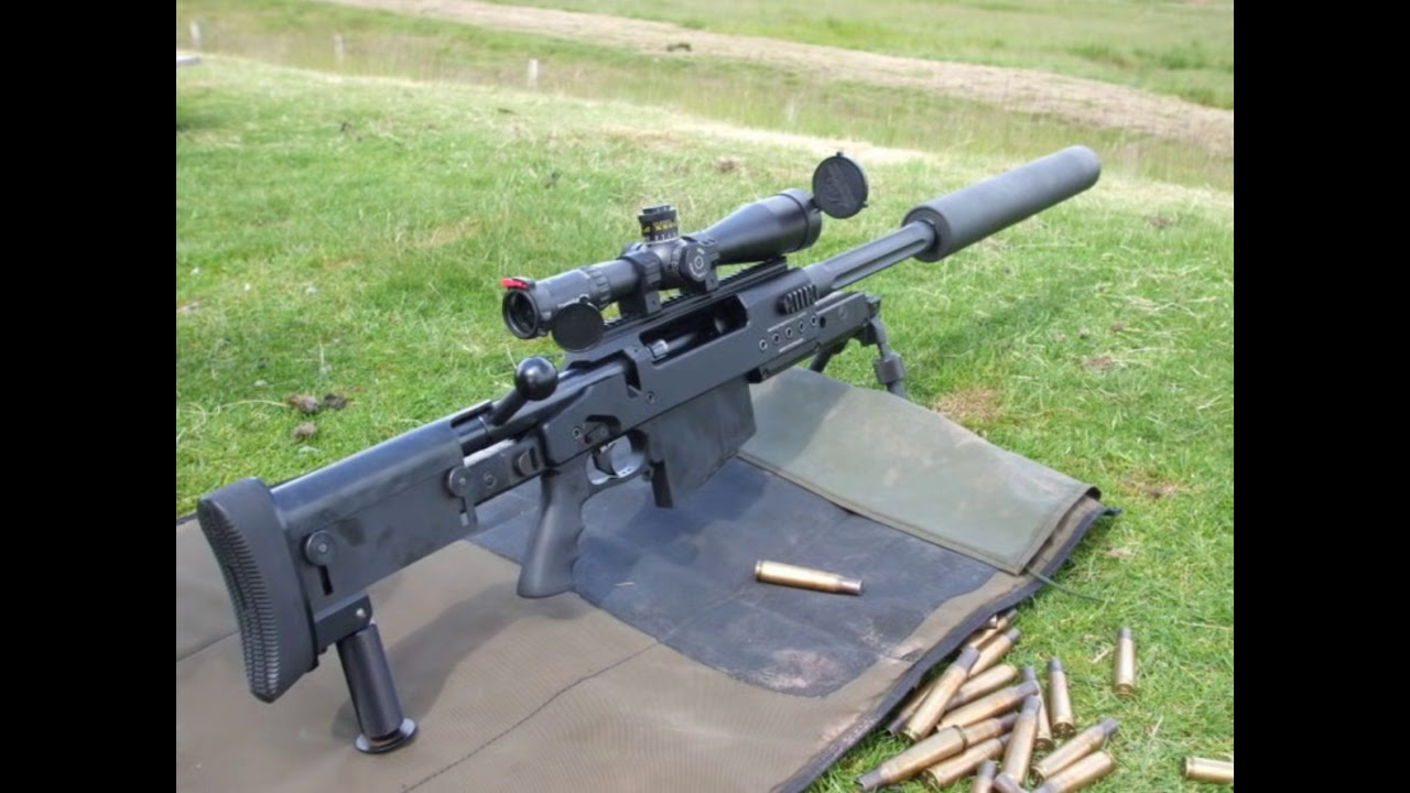 Top ten anti-material sniper rifles in the World - YouTube
