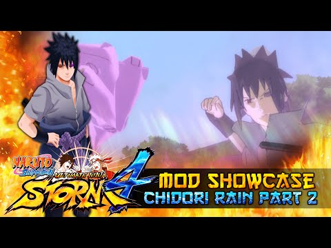 Chidori Rain Part Two 8 New Combos!!! Naruto Shippuden Ultimate Ninja Storm 4 Mod thumbnail