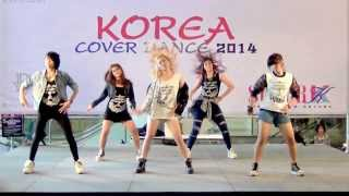140302 SaDistic cover 4Minute - What's Your Name? @Esplanade Korea Cover Dance 2014 (Audition)