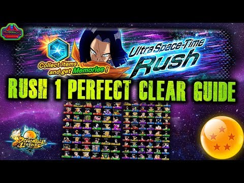 Download  Ultra Space Time RUSH - PERFECT CLEAR GUIDE - Stage 1 - All Fights with Commentary - DB Legends Gratis, download lagu terbaru