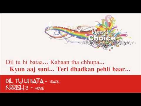 Dil Tu Hi Bata - Krrish 3 video