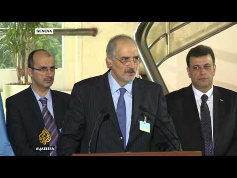 Syria talks in Geneva face new stumbling blocks
