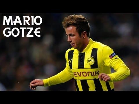 Mario Götze | Goals, Skills & Passes - 2012-13 | HD