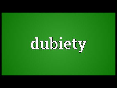 Header of dubiety