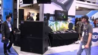 NAMM 2014 - RCF and dB Technologies booth