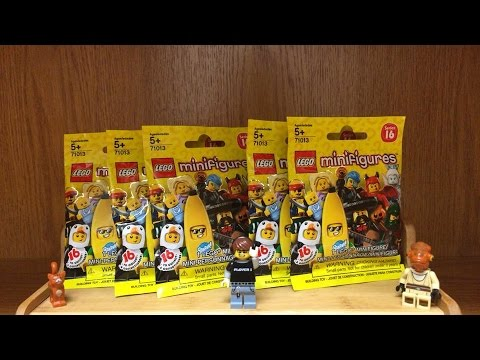 LEGO Minifigures Series 16 Opening Blind Bags